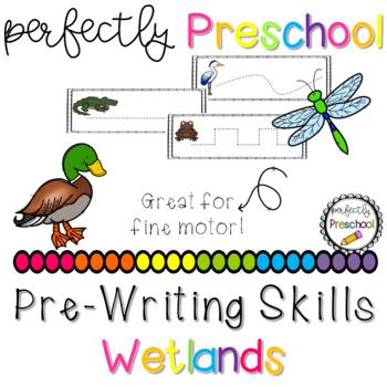Wetlands Prewriting Skills