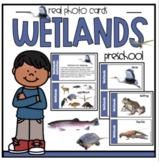 Wetlands Real Photo Cards