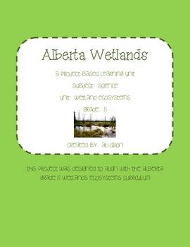Wetlands WebQuest (Website access included)