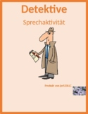 Wetter (Weather in German) Detectives speaking activity