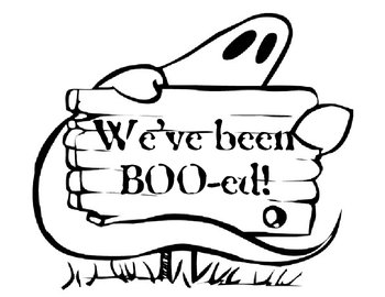 We've Been Boo'ed