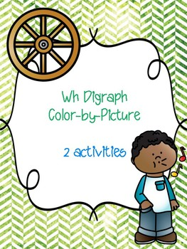 Wh Digraph Color-by-Picture