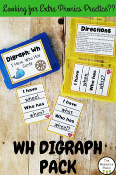 Wh Digraph Pack!