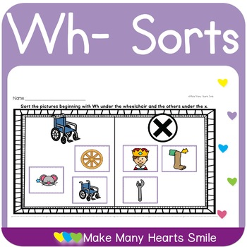 Wh Digraph Sorts     MMHS21