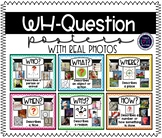 Wh-Question Anchor Posters for Special Education with Real Photos
