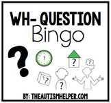 Wh- Question Bingo