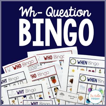 Wh- Question Bingo