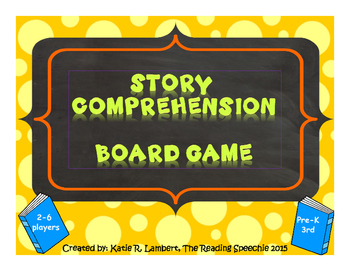 Story Comprehension Game Board FREEBIE