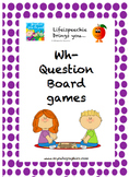 Wh- Question Board Game Pack
