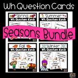 Wh Question Cards Bundle