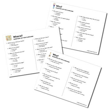 Wh- Question Flashcards