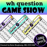 Wh Question Game Show
