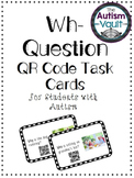 QR Codes Task Cards: Wh- Questions
