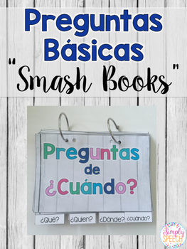 Wh-Question Smash Books: Spanish Version