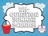 Wh Question Summer Scenes