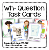Wh- Question Task Cards