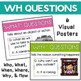 Wh Question Visual Posters {FREEBIE}
