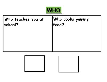 Wh Questions Level 1!