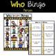 Wh- Questions Bingo