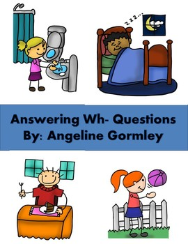 Wh- Questions Book