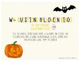 Wh- Questions Halloween Bingo