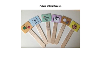 Wh Questions Popsicle Sticks