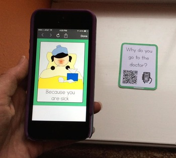 """Wh- Questions """"SCAN-IT"""" Scan the QR code to see the answer!"""