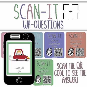 "Wh- Questions ""SCAN-IT"" Scan the QR code to see the answer!"