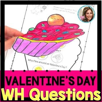 Valentine's Day Speech Therapy   Valentine's Day Speech and Language Activities
