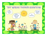 Wh Questions ~ Spring Themed