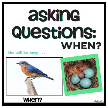 Wh Questions: When