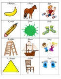 Wh- Questions and Answers with Pictures for Sorting or Matching