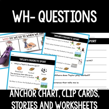 Wh Questions in Literary and Informational Text