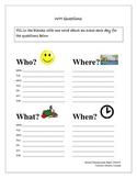 Wh Questions printables