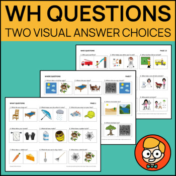 wh questions with two visual answer choices by mrnerdson tpt