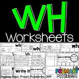 Wh Worksheets