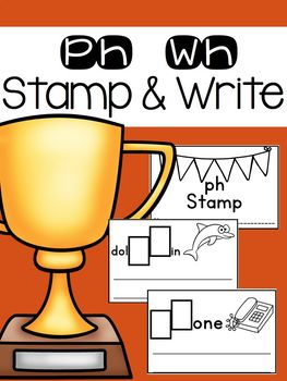 Wh and Ph Stamp and Write Book