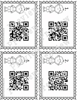 Wh and Th Digraph QR Codes