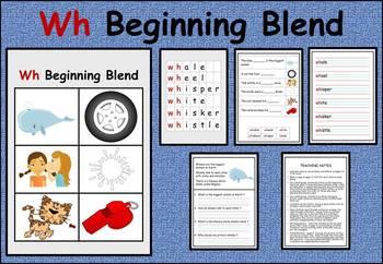 Wh beginning blend work packet