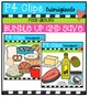 Food Groups BUNDLE (P4 Clips Trioriginals Digital Clip Art)