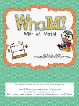 WhaM! {Whiz at Math: Math Fact and Skill Practice Fun!}