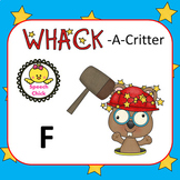 Whack-A-Critter /F/ Articulation Cards