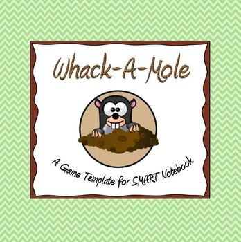 Whack-A-Mole Game Template for SMART Notebook