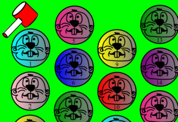 Whack-A-Mole Math Interactive - Graphs, Rounding, Place Value, Area & MORE