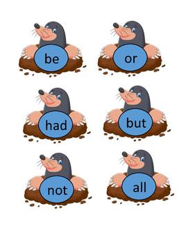 Whack-A-Mole Word Wall