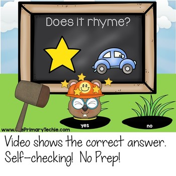 Whack-A-Rhyme - Interactive Videos