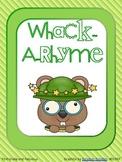 Whack-A-Rhyme