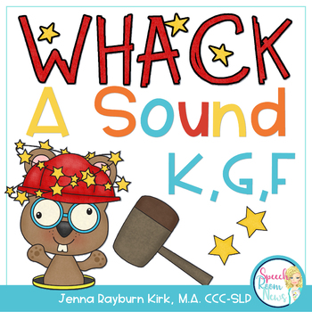 Whack A Sound K,G,F: Self Checking Articulation Game