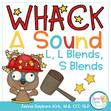Whack A Sound L, L Blends, S Blends: Self Checking Articulation Game