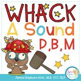 Whack A Sound P,B,M : Self Checking Articulation Game